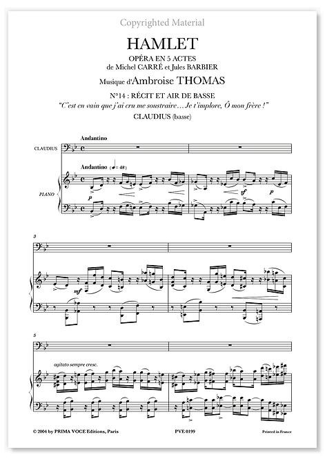 """Thomas • HAMLET • """"Je t'implore, Ô mon frère !"""" (basse)"""