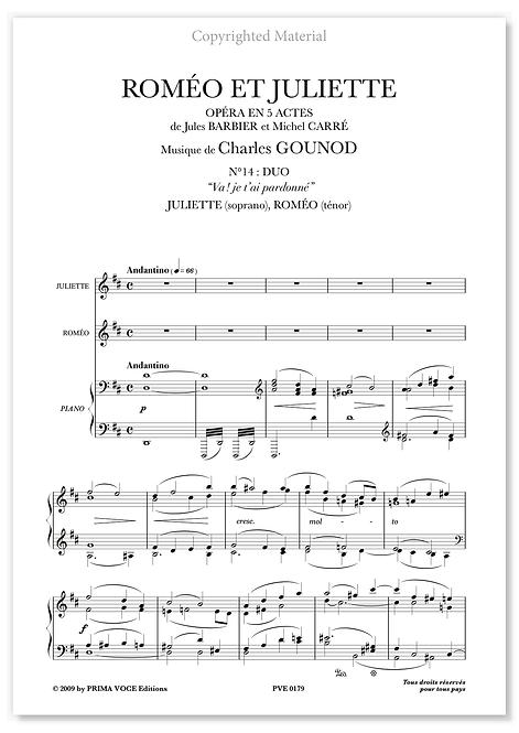"""Gounod • ROMÉO ET JULIETTE • DUO """"Va ! je t'ai pardonné"""" (sop./tén)"""