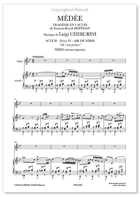 "Cherubini • MÉDÉE • ""Ah ! nos peines"" (mezzo-soprano)"