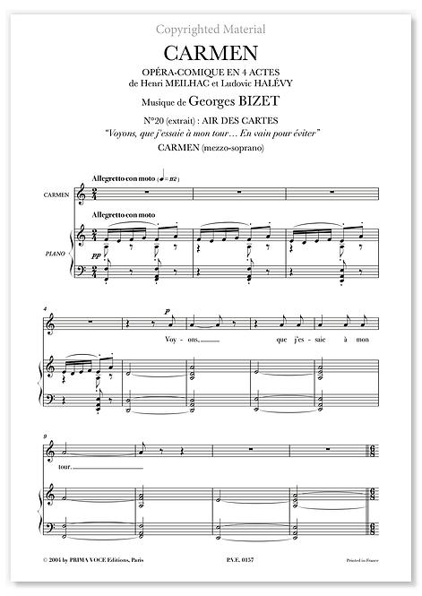 "Bizet • CARMEN – ""En vain pour éviter"" (mezzo-soprano)"