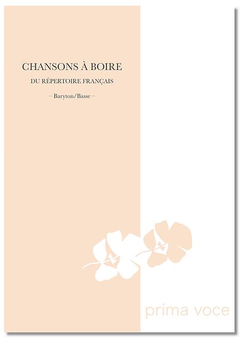 CHANSONS À BOIRE du Répertoire français • Baryton / Basse