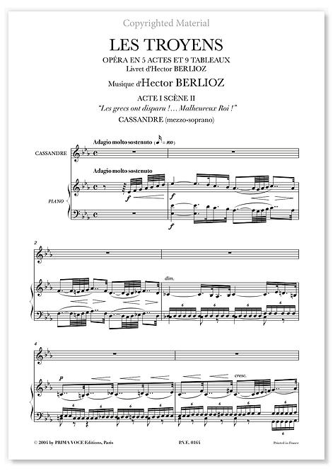 """Berlioz • TROYENS (LES) – """"Malheureux Roi !"""" (mezzo-soprano)"""