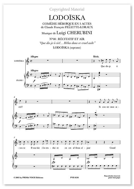 "Cherubini • LODOÏSKA – ""Hélas, dans ce cruel asile"" (soprano)"
