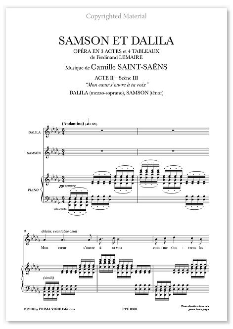 "Saint-Saëns • SAMSON ET DALILA • ""Mon coeur s'ouvre à ta voix"" (mezzo-soprano)"