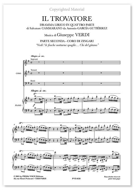"Verdi • TROVATORE (IL) • ""Vedi ! le fosche notturne spoglie…"" (choeurs)"