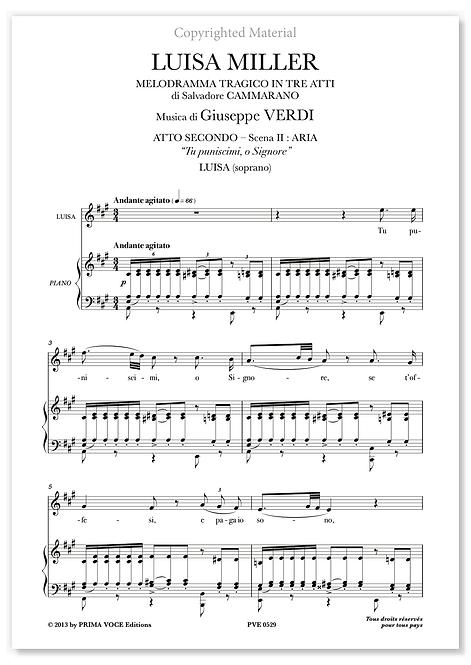"""Verdi • LUISA MILLER • """"Tu puniscimi, o Signore"""" (soprano)"""