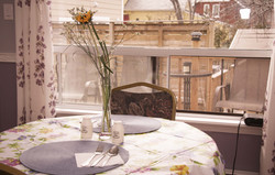 Rosedale dining room deck view