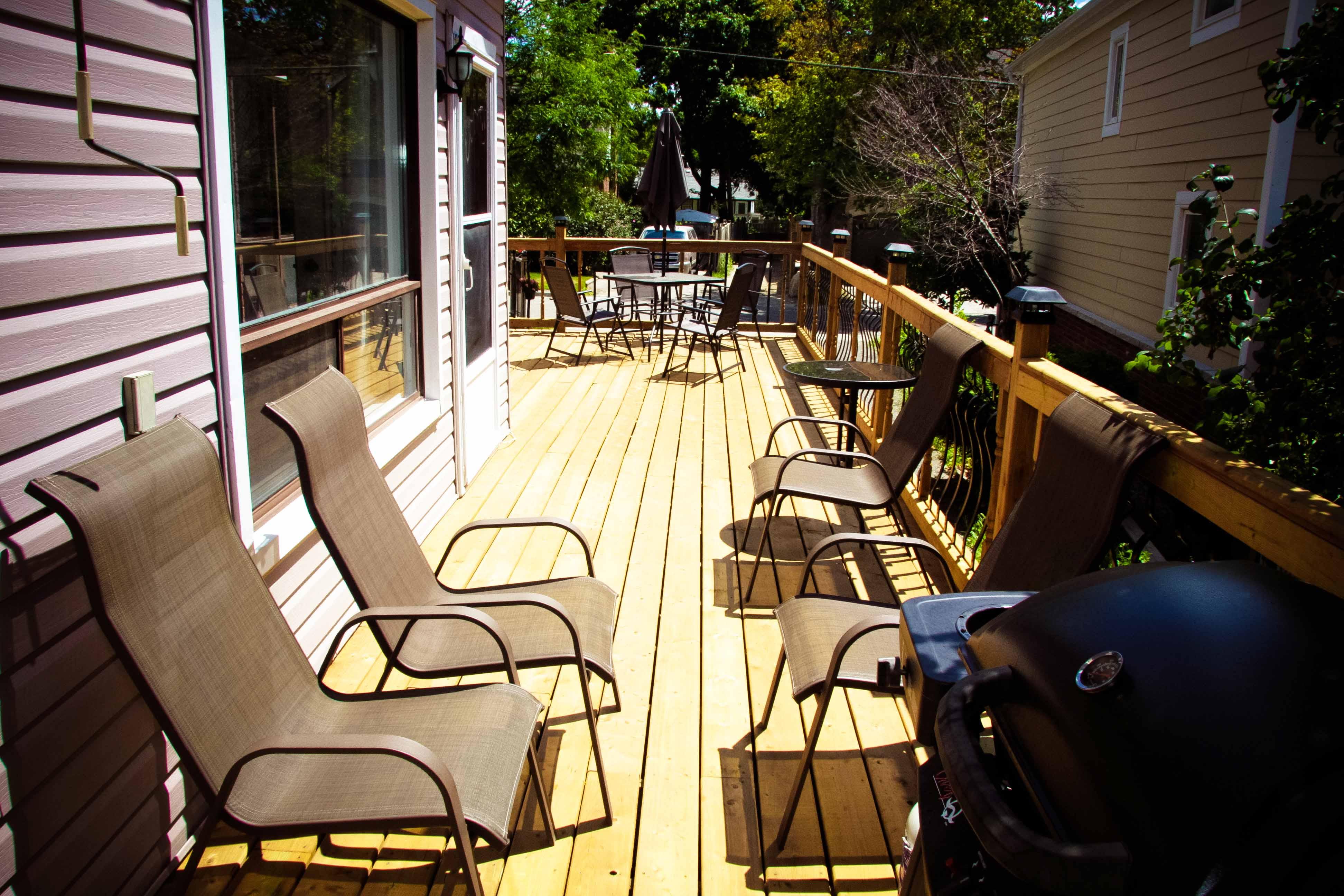 Rosedale side deck