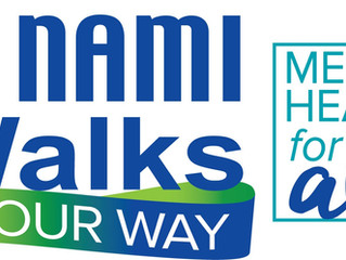 """COMHAR Celebrates Mental Illness Awareness by Participating in the NAMI Walk to """"Stomp out Stigma"""""""