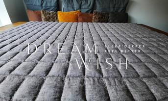 Dream Wish meer energie deken koele verzwaringsdeken
