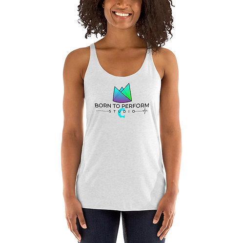 Women's Racerback Tank Light