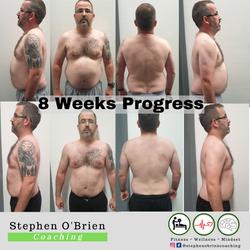 Alan O Driscoll 8 Weeks Progress