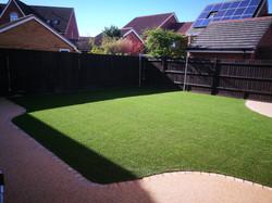 Artificial grass March 17