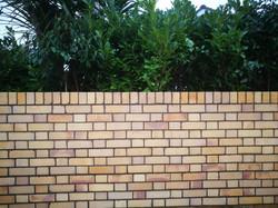 Brick wall Fareham