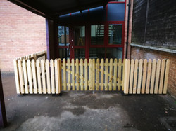 Fencing at Trafalgar school