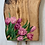 Thumbnail: Tulip flowers Olive wood charcuterie board