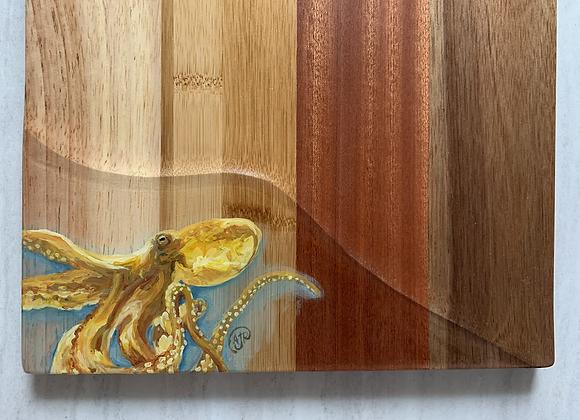 Octopus cutting/charcuterie board