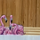 Thumbnail: Three flamingos bamboo cutting board