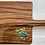 Thumbnail: Sea turtle with fish on back wood charcuterie board