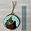 Thumbnail: Bear waving with hat ornament