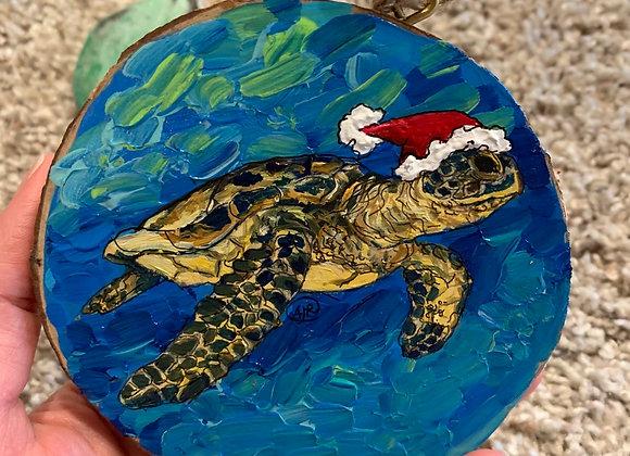 Toby sea turtle ornament