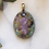 Thumbnail: Charoite Turquoise Amethyst Crystal Pendant