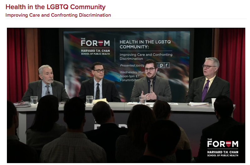 Speaking on Harvard LGBTQ Forum