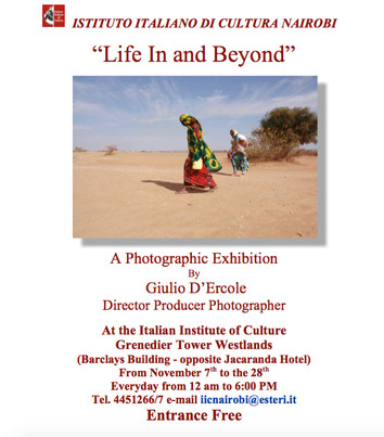 Poster Exhibition Life In and Beyond