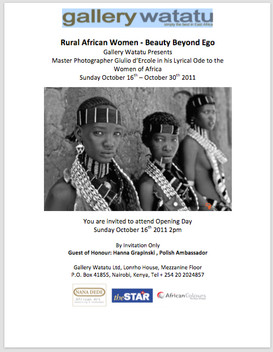 Poster Exhibition Rural African Women - Beauty Beyond Ego