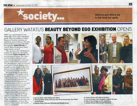 Article on Exhibition Rural African Women - Beauty Beyond Ego