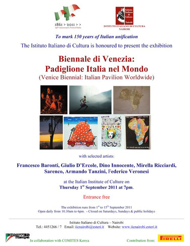 Poster EXhibiton Biennale di Venezia