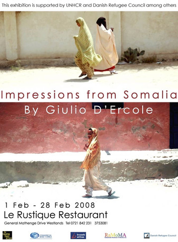 Poster Exhibition Impressions from Somalia