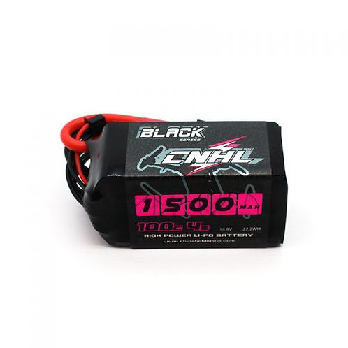 CNHL BLACK SERIES 1500MAH 14.8V 4S 100C LIPO BATTERY