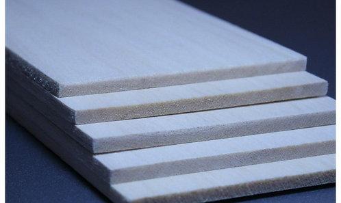 Balsa wood 5x100x1000mm  (1 meter