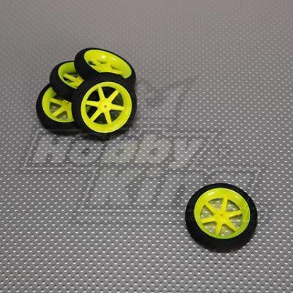 Super Light Multi Spoke Wheel D50x13 (2inches) hobbyking