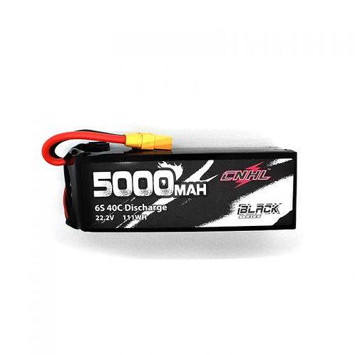 CNHL BLACK SERIES 5000MAH 22.2V 6S 40C LIPO BATTERY