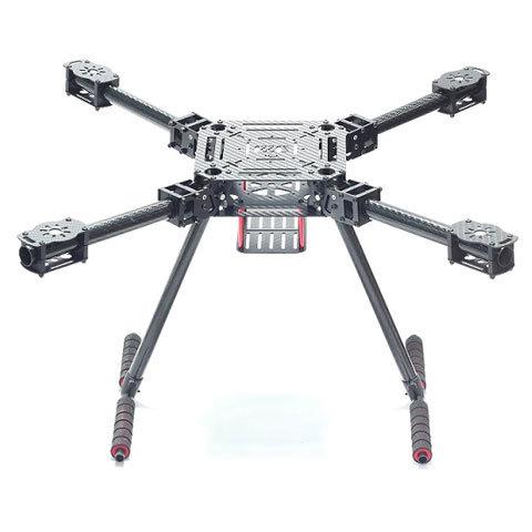 ZD680 680mm Carbon Fiber Quadcopter Frame folding with carbon fiber landing skid