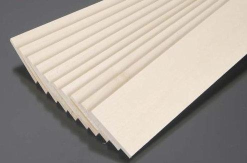 Balsa wood 2x100x1000mm (1 meter)