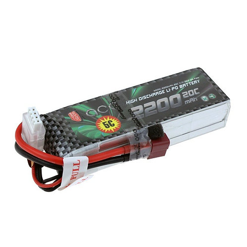 Gens ACE  3S 11.1v 2200mah 20c lipo Battery