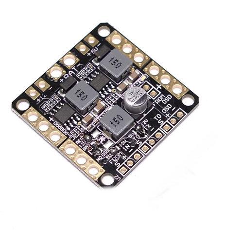 2-6S Pdb / 5V 12V Dual BEC / LC filter 3 in 1 PCB / PDB