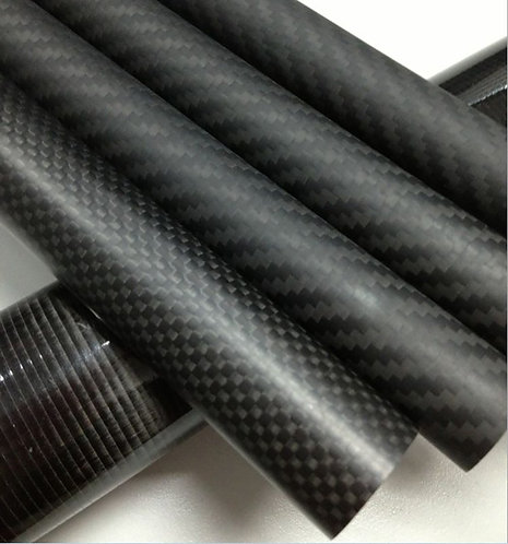 3K Pure Carbon Fiber Tube Mate 25x23x1000mm