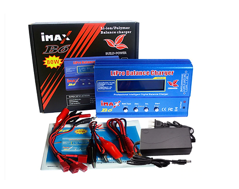 ImaxB6 80W lipo balance charger with power supply