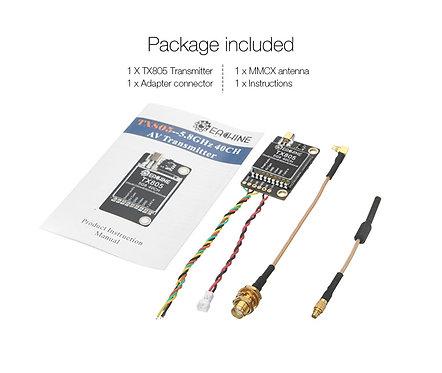Eachine TX805 5.8G 40CH 25/200/600/800mW  Pitmode/Smart Audio