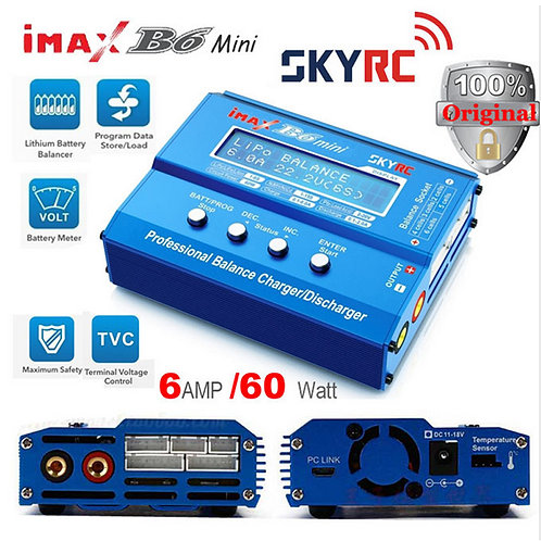 Original SkyRC iMAX B6 60W Mini Balance Charger for 1-6S