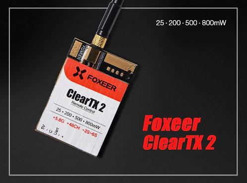 Foxeer ClearTX 2 5.8G 48CH 25/200/500/800mW  VTx FPV Transmiter