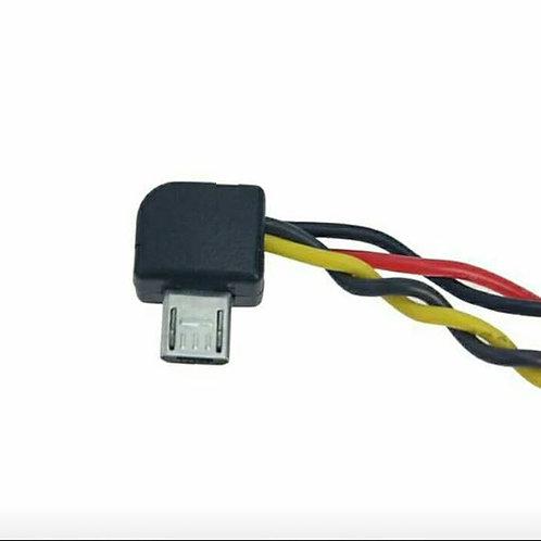 High Quality Micro USB Camera SJ4000 SJ / 5000/6000 AV Video Cable Rechargeable