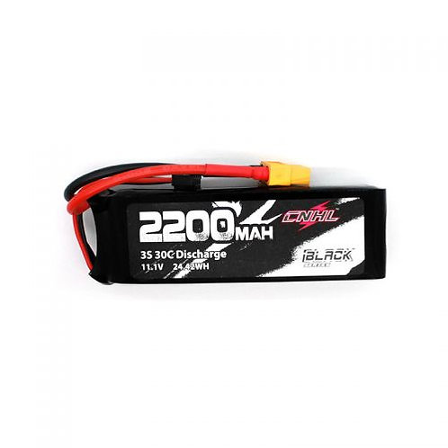 CNHL BLACK SERIES 2200MAH 3S 11.1V 30C LIPO BATTERY