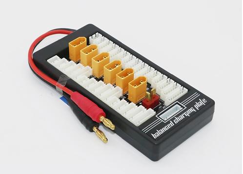 Parallel balance charging port 2s-6s