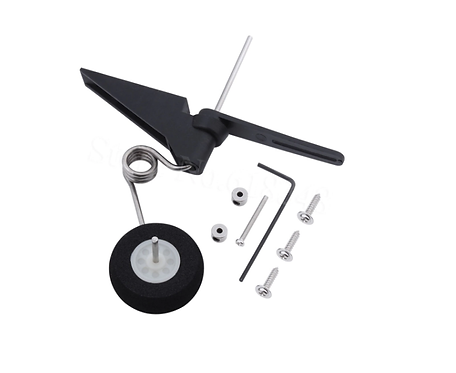 Tail Wheel moveable landing gear 60x25mm D28 /30 RC Airplane