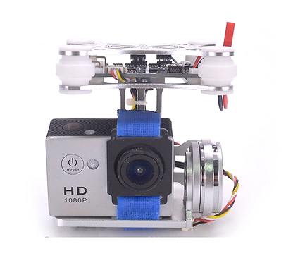 ightweight 2-Axis Brushless Gimbal Frame with BGC Board